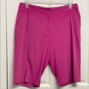 EP Pro Golf Shorts Size 12 Pink